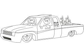 Small Picture Lowrider Coloring Page 29340 Bestofcoloringcom