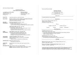 College Resume Template 2018 Classy College Interview Resume Template Resume For College Application