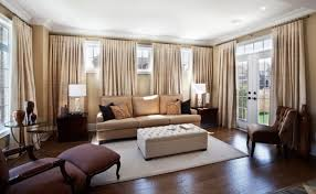 drapes for living room windows. simple beige curtains can take narrow, high windows and pull the eye down to drapes for living room