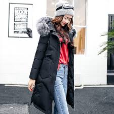 2017 winter women hooded coat fur