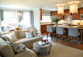 Open Living Room And Kitchen Designs Exterior Interesting Design Ideas