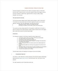 sample business proposal 25 sample business proposal templates in word free
