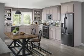 Cardell Kitchen Cabinets Slisbee Maple In Pebble Grey