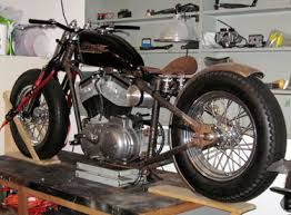 taped on chopper parts custom built motorcycles garage built