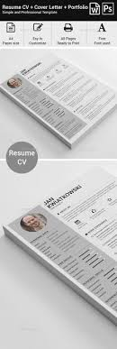 Photoshop Resume Template Magnificent Resume PSD Template Blue Resume Clean Cv Download ➝