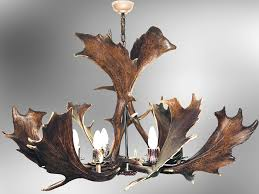 fallow deer antler chandelier designs luca for brilliant residence deer antler chandeliers decor