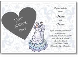 Online Wedding Invite Template Printable Wedding Invitations Free Online Wedding Invitation