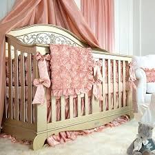 pink crib elephant bedding set solid per pad