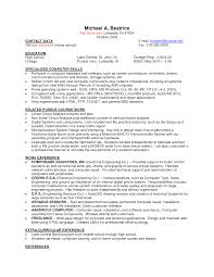 Resume Part Time Job Resumes For On Campus Jobs Sample