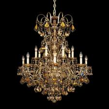 schonbek lighting 3658 48h new orleans 14 light candle style chandelier antique silver