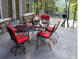 wrought iron patio table rectangular off dogwood dining set wrought iron patio in wrought iron patio