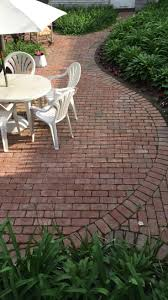 Brick Patio #hardscape #patio #brick