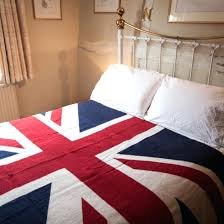single bedroom red bed linen union jack duvet cover flag sheets queen