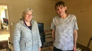 Andrew Gibbard and his mental health support worker Robyn Stringer ...