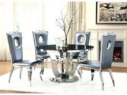 chrome round dining table tadalafilen glass and chrome dining table glass chrome dining table set