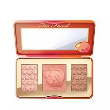 Too Faced Love Light Highlighter Debenhams Sweet Peach Glow Face Palette
