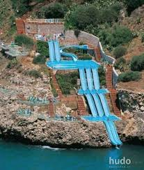 cool swimming pools with slides. Brilliant With Cool  Posters Hudo Swimming Pool Water Slide  Inside Pools With Slides M