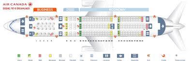 Air Canada Plane Seating Chart Air Canada Fleet Boeing 787 8 Dreamliner Details And