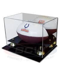 acrylic mini football display
