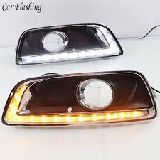 2013 Chevy Malibu Daytime Running Lights Us 53 1 10 Off 2 Pcs For Chevrolet Malibu 2012 2013 2014 2015 Drl With Fog Lamp Hole Daytime Running Lights With Turn Signal Relay 12v Daylight In