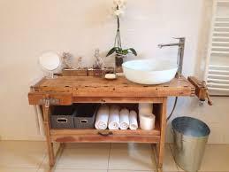 Hobelbank Als Waschtisch Zubehör Restauriert Loft Vintage For Alte