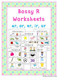 R Controlled Vowels Worksheets | Worksheets, Phonics and Word work