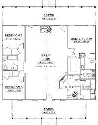 3 Bedroom Open Floor House Plans Creative Design Custom Decorating Design