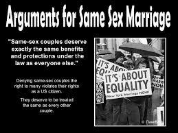 pro same sex marriage essay outline