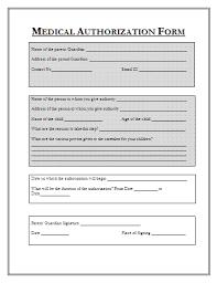 Medical Consent Form For Children Erkaljonathandedecker Simple Printable Medical Release Form For Children