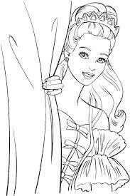 Barbie Doll Coloring Pages Beautiful Barbie Coloring Pages Barbie