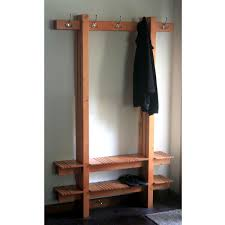 Diy Coat Rack Bench Storage Coat Shoe Pinnig Rack With Bench Ikea Regard To Inspirations 76
