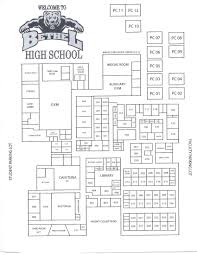 school floor. Floor Plan School