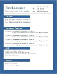 Modern Cv Sample Sample Word Format Cv Template Word Download Modern Cv