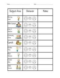 Individual Student Behavior Reward Plan Student Behavior