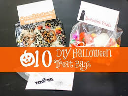 homemade halloween candy bags. Contemporary Bags 10 DIY Halloween Treat Bags Throughout Homemade Candy T