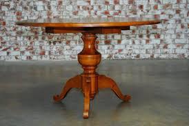 round pine pedestal dining table handsome country round pine pedestal dining table featuring a thick 1