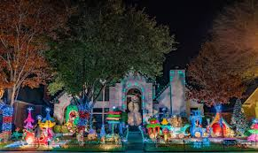 Smu Celebration Of Lights Where To View Christmas Lights In Dallas
