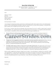 Resume Information Technology Consultant Cover Letter Best
