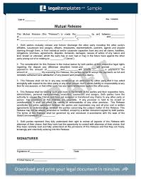 Liability Waiver Template Word Inspiration Free Release Of Liability Form Sample Waiver Form Legal Templates