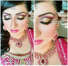 arabic bridal makeup tutorial with steps pictures beststylo