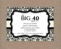 40th Birthday Invitations Free Templates Nice 40th Birthday Party Invitations Free Templates In 2019