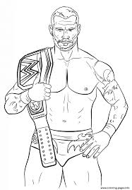 Small Picture randy orton coloring page Coloring pages Printable