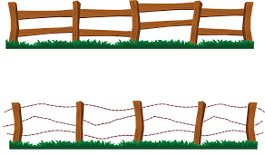 ranch fence clipart. Beautiful Ranch Old Fence Clipart Inside Ranch N