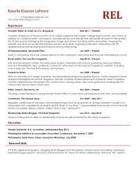 What A Good Resume Looks Like Resume Templates