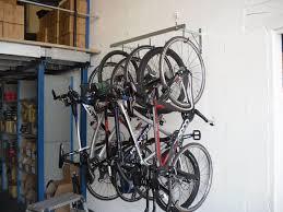 cycle 6 bike pro wall hanging rack
