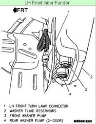 how to replace turn signal switch on 95 geo tracker fixya here s a diagram