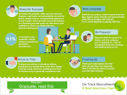 interview tips archives on track recruitment services infographic recruitment agency farnham on track recruitment