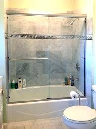 how to install bathtub doors appealing how to install a shower door shower door installation sliding