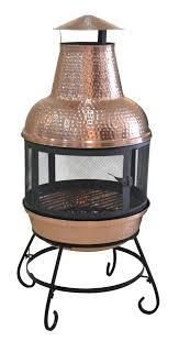 cape copper chiminea