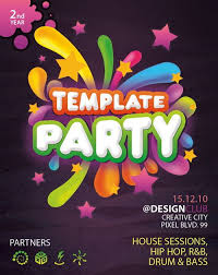 Free Party Flyer Templates Download 30 Free Poster Flyer Templates In Psd Ginva